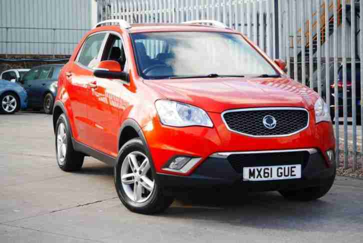 2011 61 Ssangyong Korando 2.0 Diesel 173 Orange