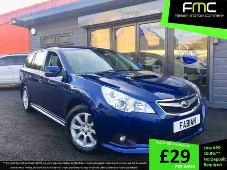 2011 61 Subaru Legacy 2.0D Sports Tourer S Estate Full Service History