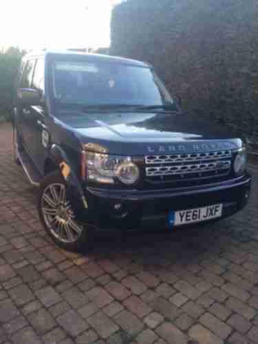 2011 61 reg,Land Rover Discovery 4 3.0SD V6 hse 8 spped auto
