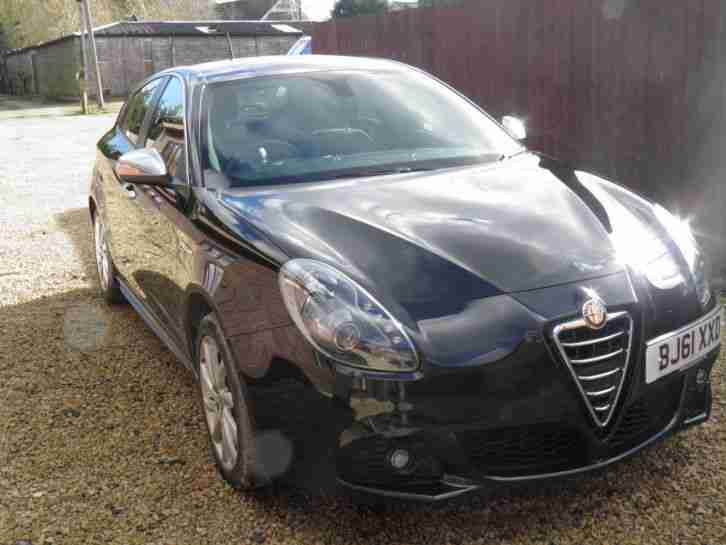 alfa romeo 2011 giulietta veloce jtdm 2 black px swap 4x4. Black Bedroom Furniture Sets. Home Design Ideas