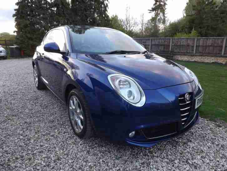 alfa romeo 2011 mito lusso multiair 135 blue no reserve on sale car for sale. Black Bedroom Furniture Sets. Home Design Ideas
