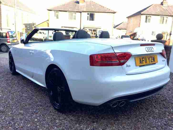 Audi 2011 A5 S Line 2 0 Tdi Cabriolet Convertible Ibis