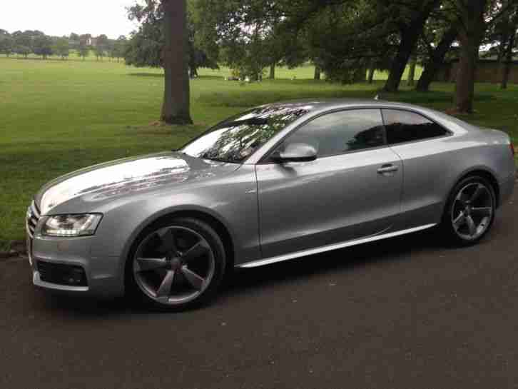 Audi 2011 a5 s line black edition coupe silver car for sale - Audi a5 coupe s line black edition for sale ...