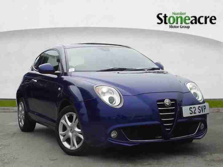 2011 Alfa Romeo Mito 1.4 TB MultiAir Sprint Hatchback 3dr Petrol Manual
