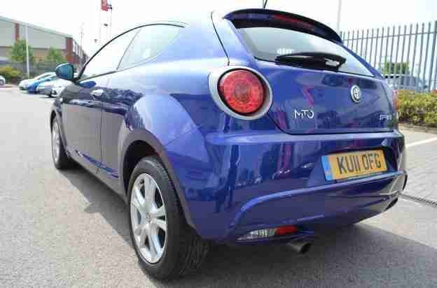 alfa romeo 2011 mito sprint multiair tct petrol blue semi auto car for sale. Black Bedroom Furniture Sets. Home Design Ideas