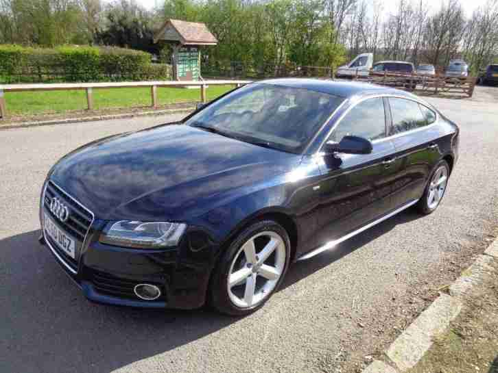 audi 2011 a5 2 0 tdi s line sportback quattro 5dr car for. Black Bedroom Furniture Sets. Home Design Ideas