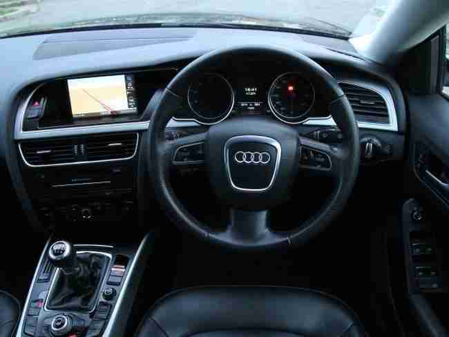 2011 Audi A5 2.0 TFSI 180 2.0T SE Sportback Sat Nav Bluetooth 6 Speed 1 Owner