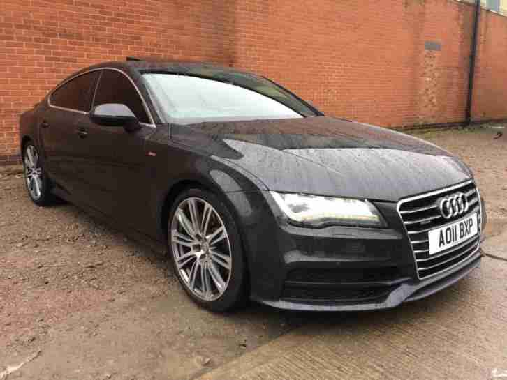 audi 2011 a7 3 0 tdi s line sportback s tronic quattro 5dr car for sale. Black Bedroom Furniture Sets. Home Design Ideas