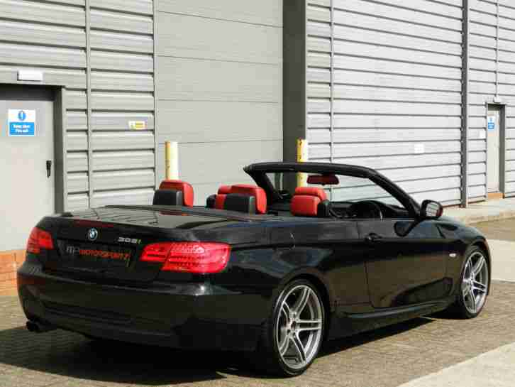 Bmw 2011 325i M Sport Auto Convertible Low Miles Red Leather Heated