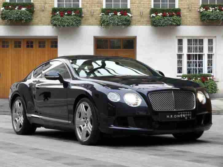 2011 Bentley Continental GT W12 Mulliner 11/61 12MY Petrol Blue Automatic
