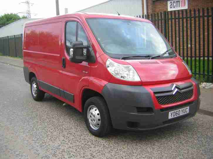 2011 CITROEN RELAY 30 100HP SWB RED 97K MILES FULL MOT SAME AS DUCATO / BOXER