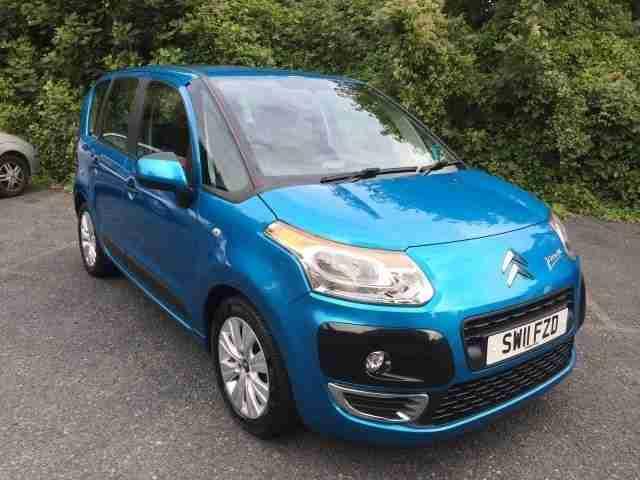 citroen 2011 c3 picasso vtr 1 6 hdi 90 8v diesel blue manual car for sale. Black Bedroom Furniture Sets. Home Design Ideas