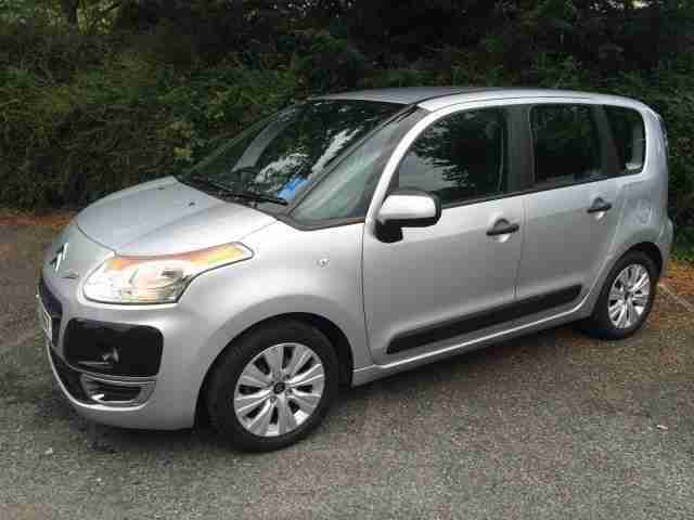 citroen 2011 c3 picasso vtr 1 6 hdi 90 diesel silver manual car for sale. Black Bedroom Furniture Sets. Home Design Ideas