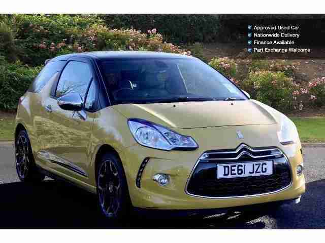 2011 Citroen DS3 1.6 E-Hdi 110 Airdream Dsport Plus 3Dr Diesel Hatchback