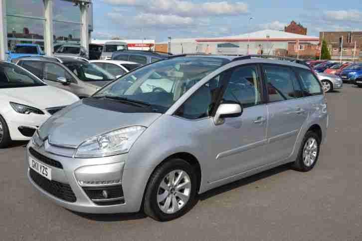 2011 Citroen Grand C4 Picasso GRAND PICASSO VTR PLUS HDI EGS Automatic, air con