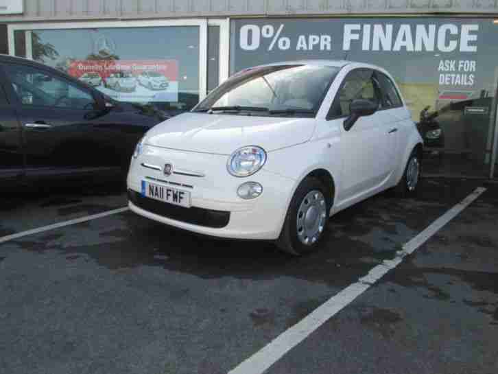 2011 FIAT 500 1.2 POP Manual Hatchback
