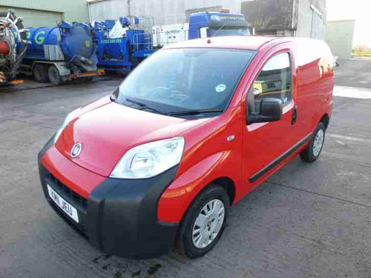 2011 FIAT FIORINO 16V MULTIJET RED,NO VAT ON TOP