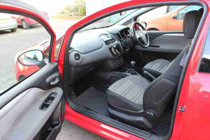 2011 FIAT PUNTO EVO DYNAMIC S-A RED