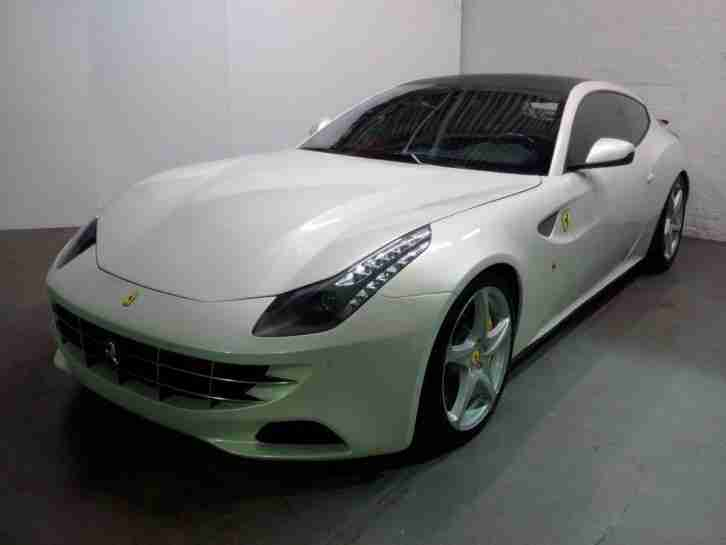 2011 Ferrari FF LHD Import NOVITIC ROSSO Damaged Salvage Repairable 34k Miles