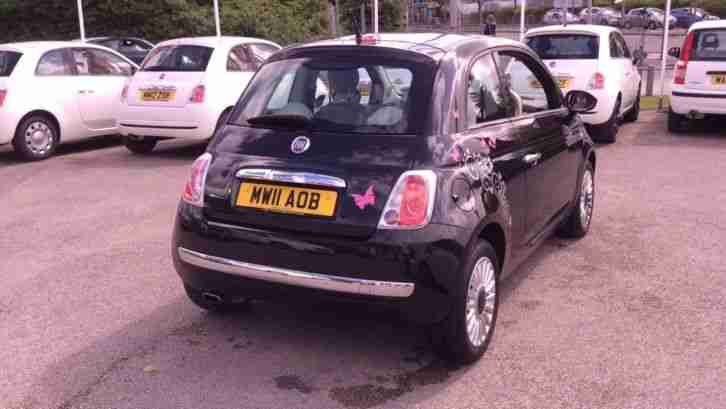 2011 Fiat 500 1.2 Lounge 3dr (Start Stop) Manual Petrol Hatchback