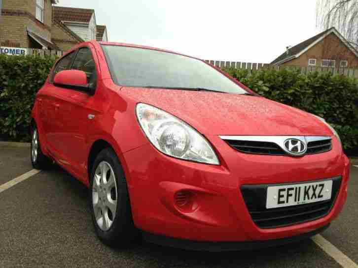Hyundai 2011 I20 1 2 Comfort 5dr Car For Sale
