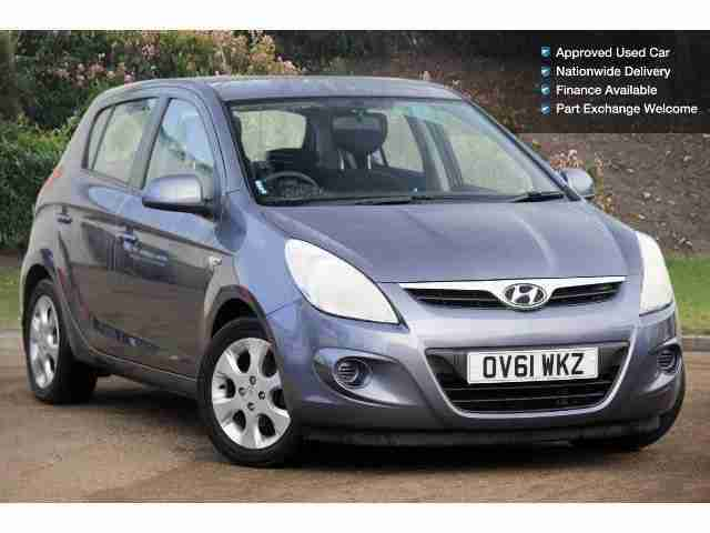 Hyundai 2011 I20 1 4 Crdi Comfort 5dr Diesel Hatchback Car For Sale