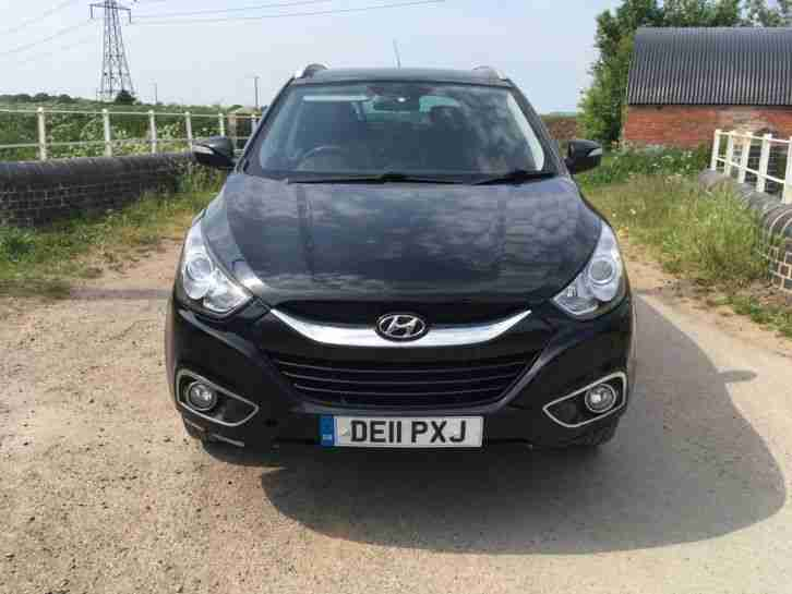 2011 Hyundai IX35 premium Black 1.7 Manual