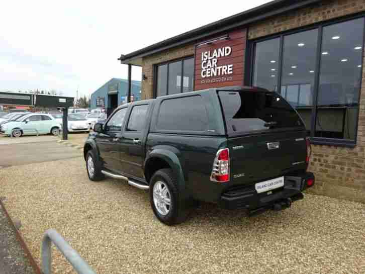 2011 ISUZU RODEO 3.0 TF DENVER TD CREWCAB PICKUP AUTO +VAT *LOW MILEAGE*