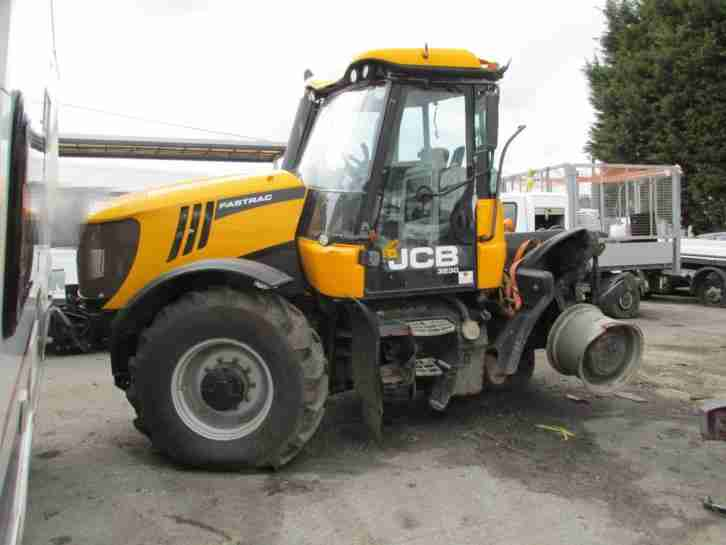 2011 Jcb Fastrac 3230 4wd Engine Cab Front Axle