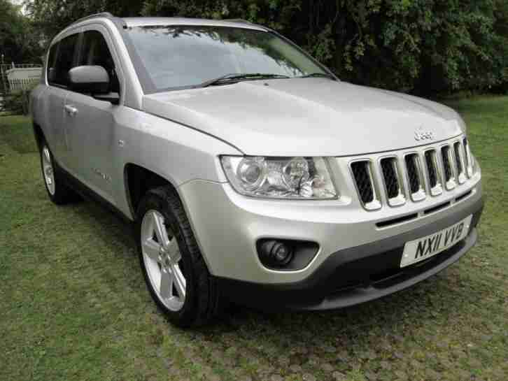 2011 Compass 2.2 CRD Limited 5dr 5 door