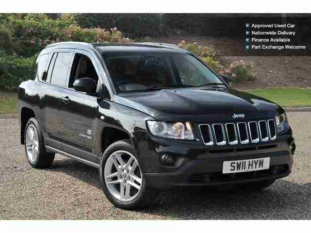 Jeep 2011 Compass 2 2 Crd 70th Anniversary 5dr Diesel
