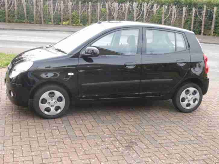 2011 KIA PICANTO DOMINO BLACK