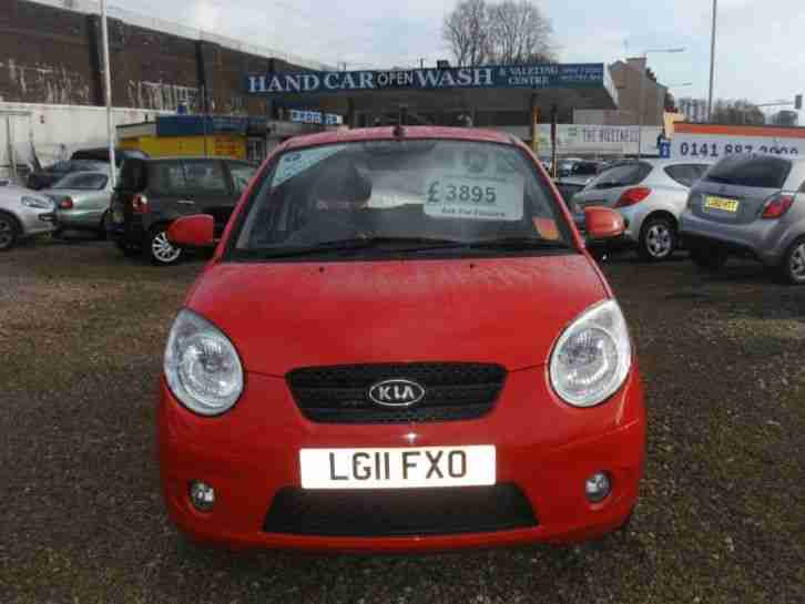 2011 Kia Picanto 1.1 2 5dr 5 door Hatchback