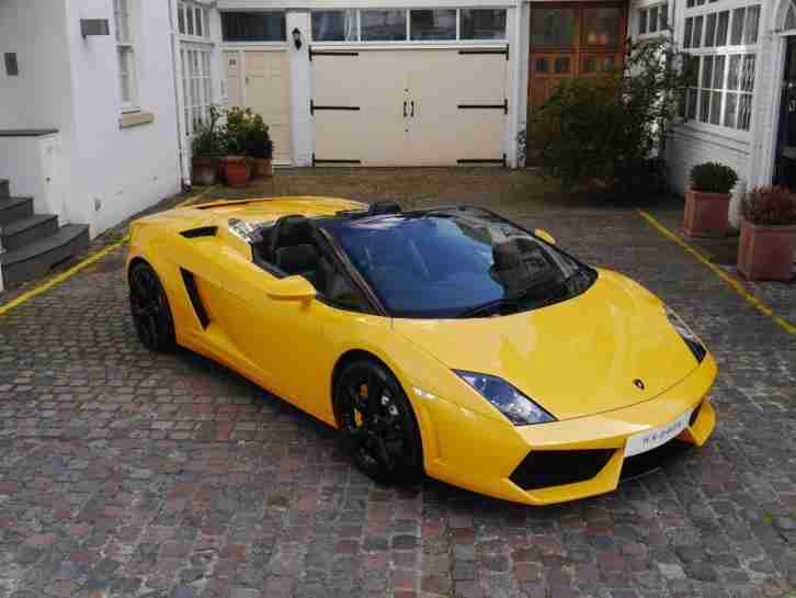 Lamborghini 2011 Gallardo Lp 560 4 Spyder 2011 11 Petrol Yellow Manual