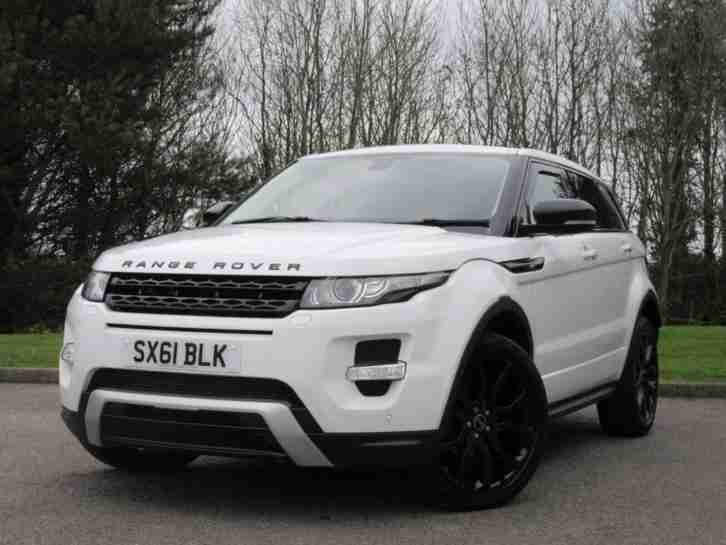 2011 Land Rover Range Rover Evoque 2.2 SD4 Dynamic SUV 5dr Diesel Manual