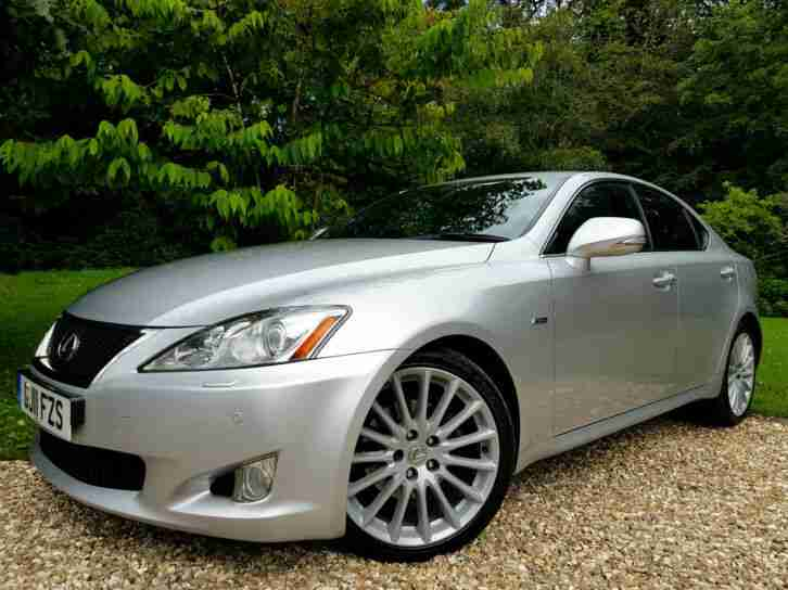 2011 Lexus IS 250 2.5 Automatic F-Sport + Leather + Full Service History