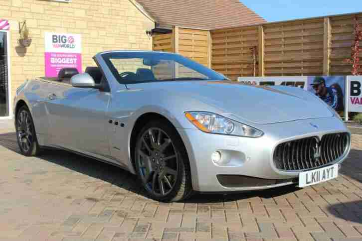 Maserati GRANCABRIO. Maserati car from United Kingdom
