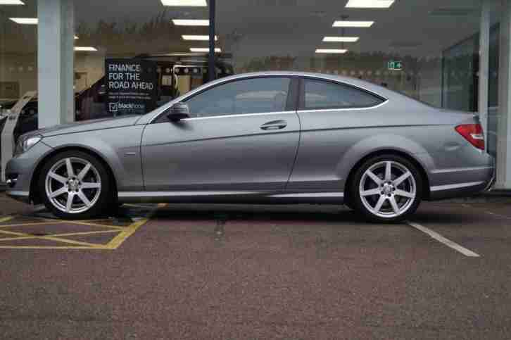 2011 MERCEDES-BENZ C CLASS DIESEL COUPE Automatic