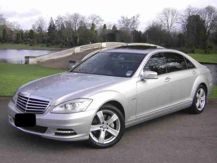 Mercedes benz 2011 s350 bluetec b fcy l cdi silver car for Mercedes benz s350 for sale