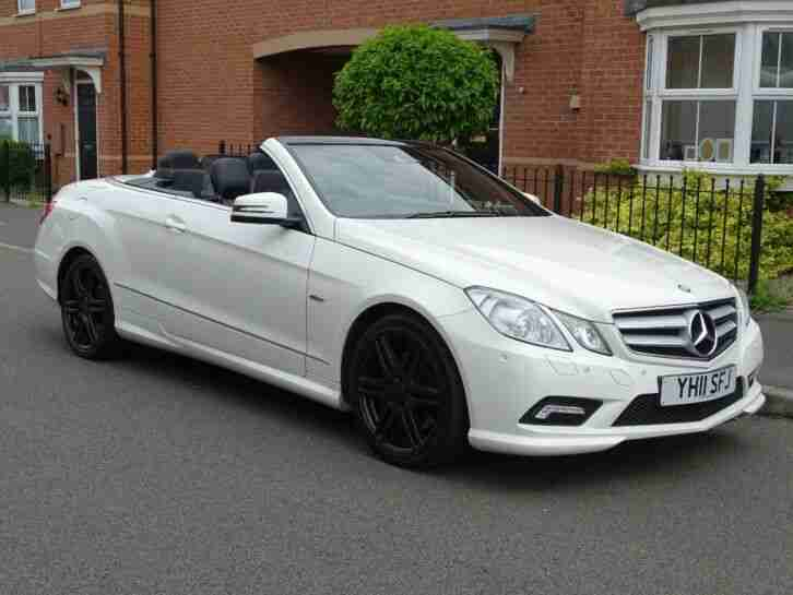 MERCEDES E350. Other car from United Kingdom