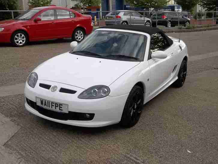 Mg 2011 Tf 135 2 Door White Car For Sale