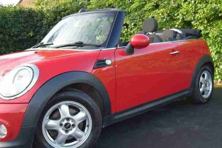 2011 MINI Convertible 1.6 One (Salt) 2dr 12 MONTH WARRANTY&MOT 1FORMER 2KEYS