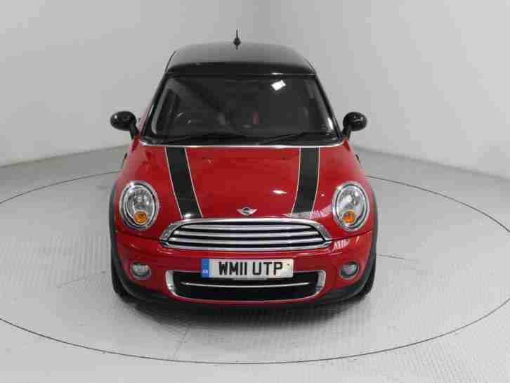 2011 MINI HATCH 1.6 TD COOPER D (CHILI) 3DR HATCHBACK DIESEL