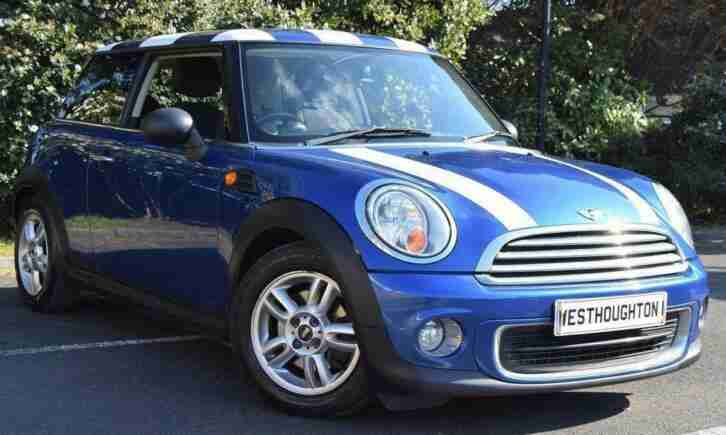 2011 MINI Hatch 1.6 One (Pepper) 3dr 2 KEYS, PEPPER PACK, WARRANTY&NOT