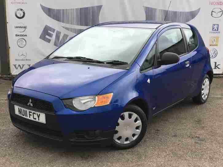 2011 MITSUBISHI COLT 1.1 CZ1 3 DOOR LOW MILEAGE LOW INSURANCE IDEAL FIRST CAR HA