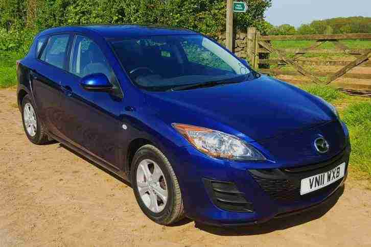 2011 Mazda 3 TS 5 Door, 1.6 Petrol, 5 Speed. BARGAIN