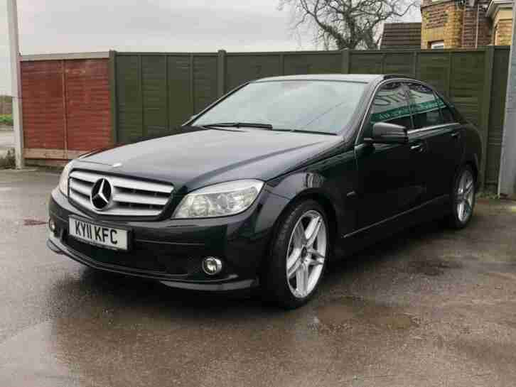 2011 Mercedes-Benz C Class 3.0 C350 CDI BlueEFFICIENCY Sport 4dr