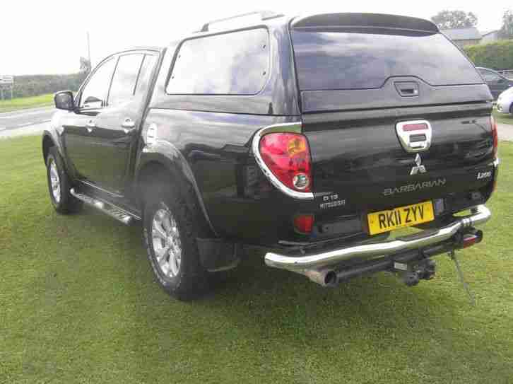 2011 Mitsubishi L200 Double Cab DI D Barbarian 4WD Auto 176Bhp 5 door Pick up