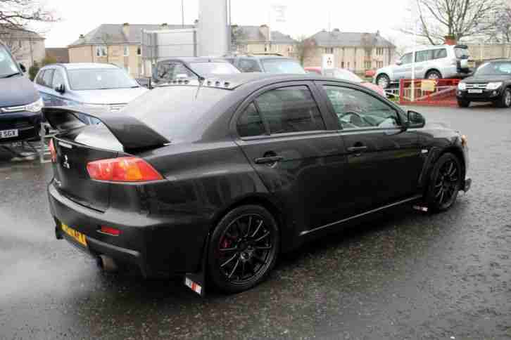 2011 Mitsubishi Lancer Evolution GSR FQ 300 SST Petrol Black Automatic
