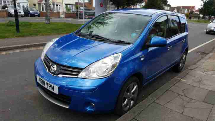2011 NISSAN NOTE N-TEC BLUE WITH FULL SERVICE HISTORY ONLY £3,495 ONO